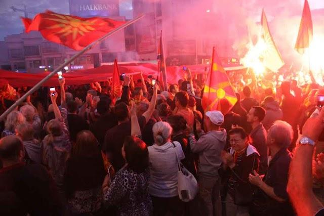 Mazedonien: Wieder demonstrieren Tausende gegen geplante Namensänderung
