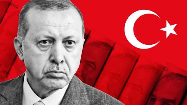 Πορεία οικονομικής ασφυξίας για Ερντογάν