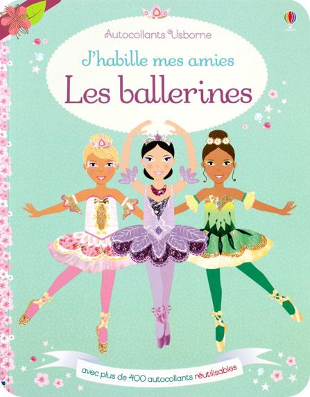 J'habille mes amies : les ballerines - éditions Usborne