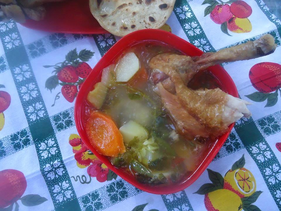 Caldo De Gallina Salvadorena Mi Cocina Salvadore&#2...