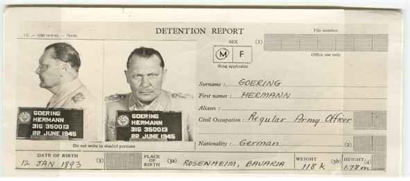 Hermann Goering death worldwartwo.filminspector.com