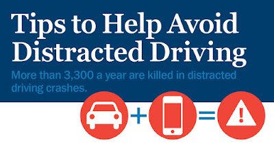 more than 3,300 people are killed in distracted driving accidents per year