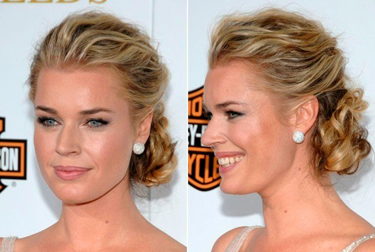 Pleasant Casual Updo Hairstyle For Long And Straight Hair Celebrity Short Hairstyles Gunalazisus