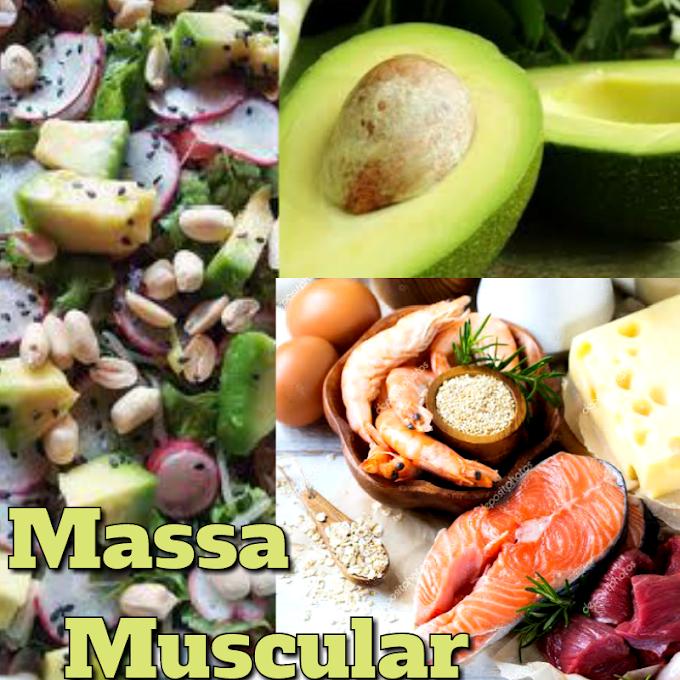 Alimentos para ganho de Massa Muscular