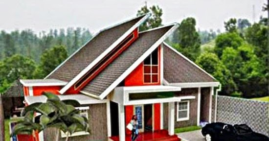 contoh 4 jenis atap rumah minimalis sederhana terbaru 2016