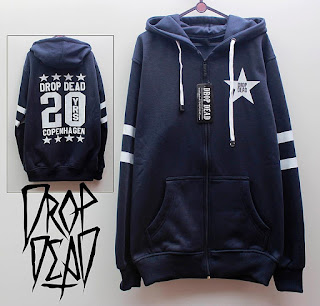 Jaket Fleece Hoodie - Dropdead DROP007