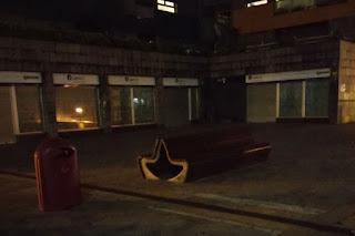 Problemas de iluminación en la plaza Beurko Berria