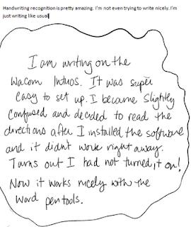 Cursive Handwriting Tryout