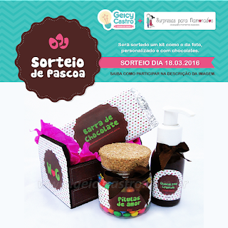 kit de chocolates para a páscoa