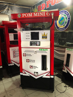 1 nozzle portable kapasitas 210 liter Harga: Rp 10.000.000