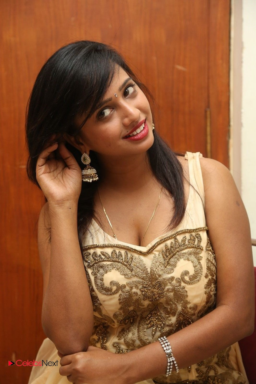 Actress Nakshatra Latest Picture Gallery in Long Dress  0076.JPG