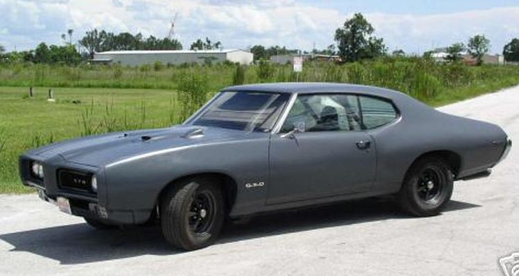 El Pontiac GTO de The Punisher