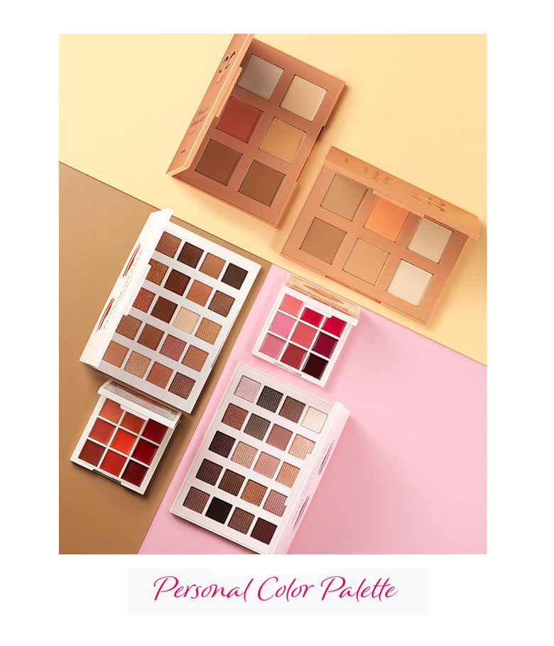 Personal Color Palette Pro Warm Tone Lips by Etude House #21