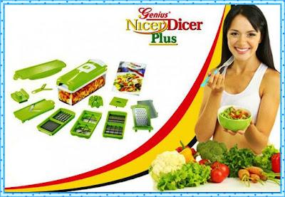 Jual Nicer Dicer Plus Murah - Multi Kitchen Serbaguna Praktis