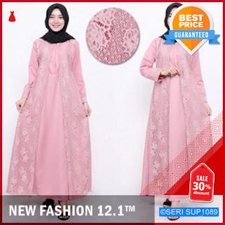 SUP1089B27 Brokat Kebaya Dress Premium Hena Murah BMGShop