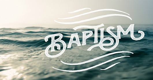 The Day After...A Baptism Story