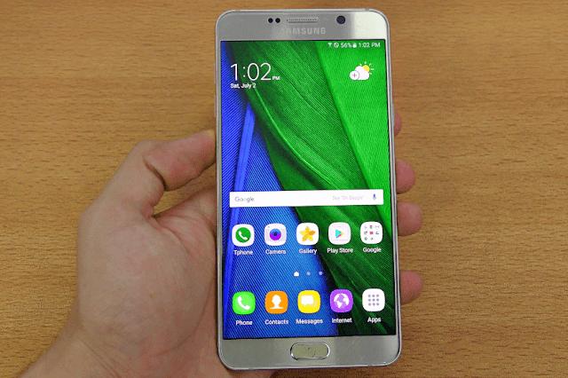 1. Layar Samsung Galaxy Note yang biasa-biasa saja - Samsung Galaxy Note 7