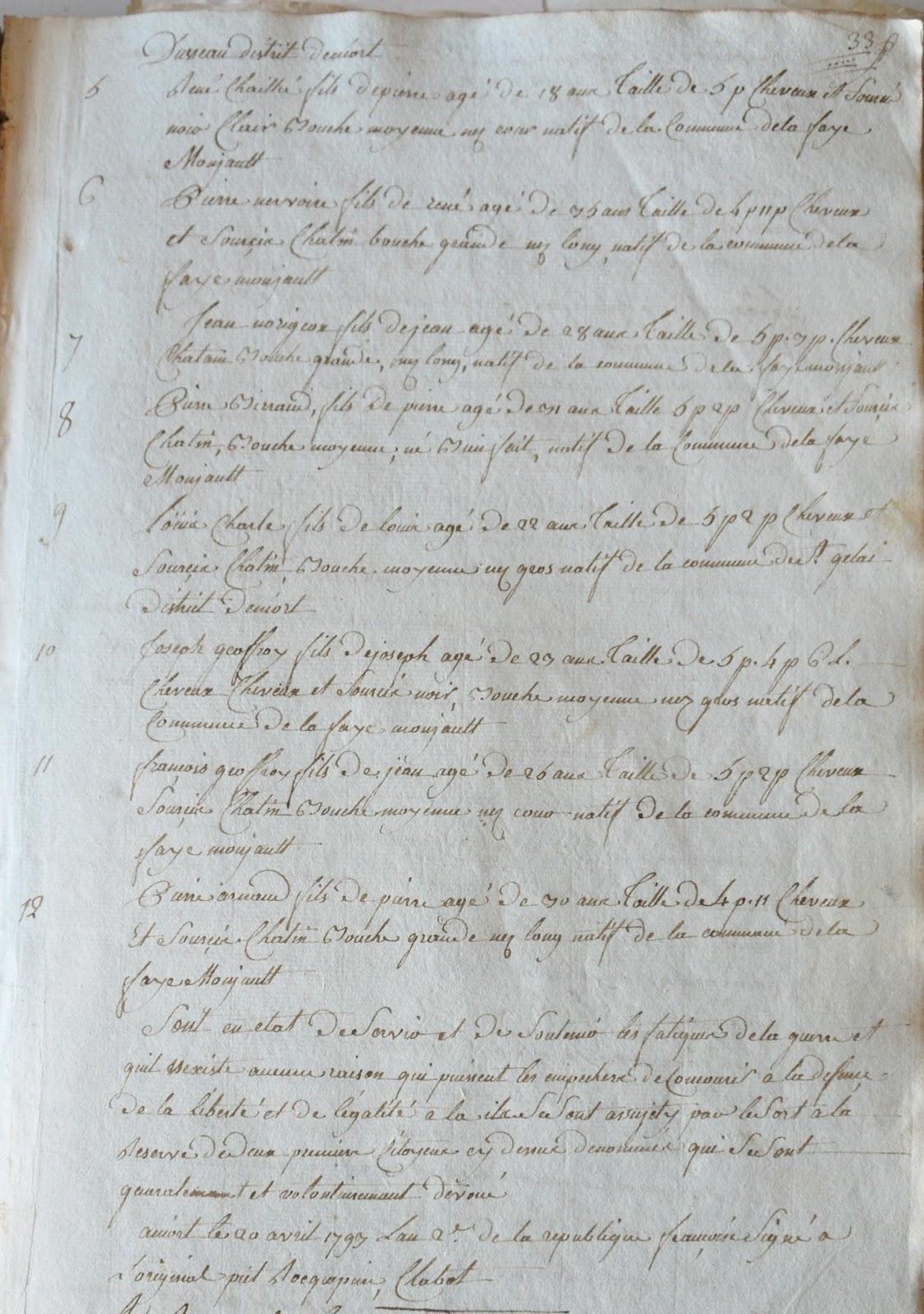 Deuxième page