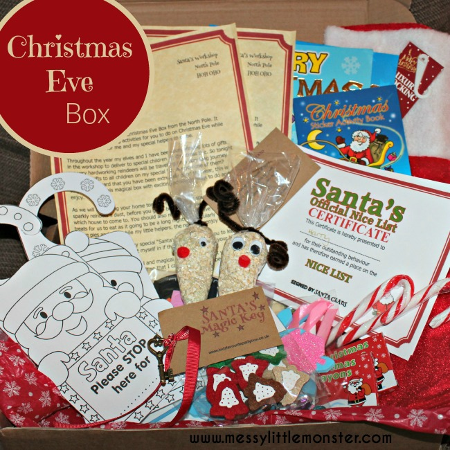 Magical Christmas Eve Activity Box- Everything you need for a magical Christmas eve