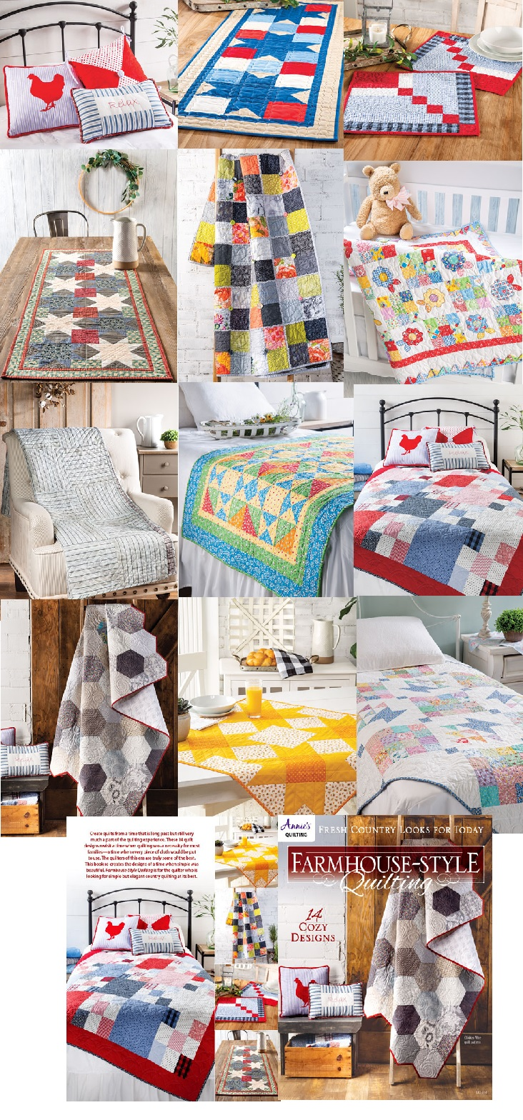 Farmhouse-Style Country Quilt Patterns Quilting Projects