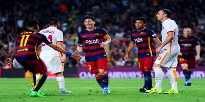 Joan Gamper : Barcelona 3 vs 0 Roma 05-08-2015
