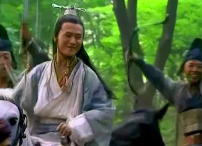 Lin Pingzhi and his escorts cheered