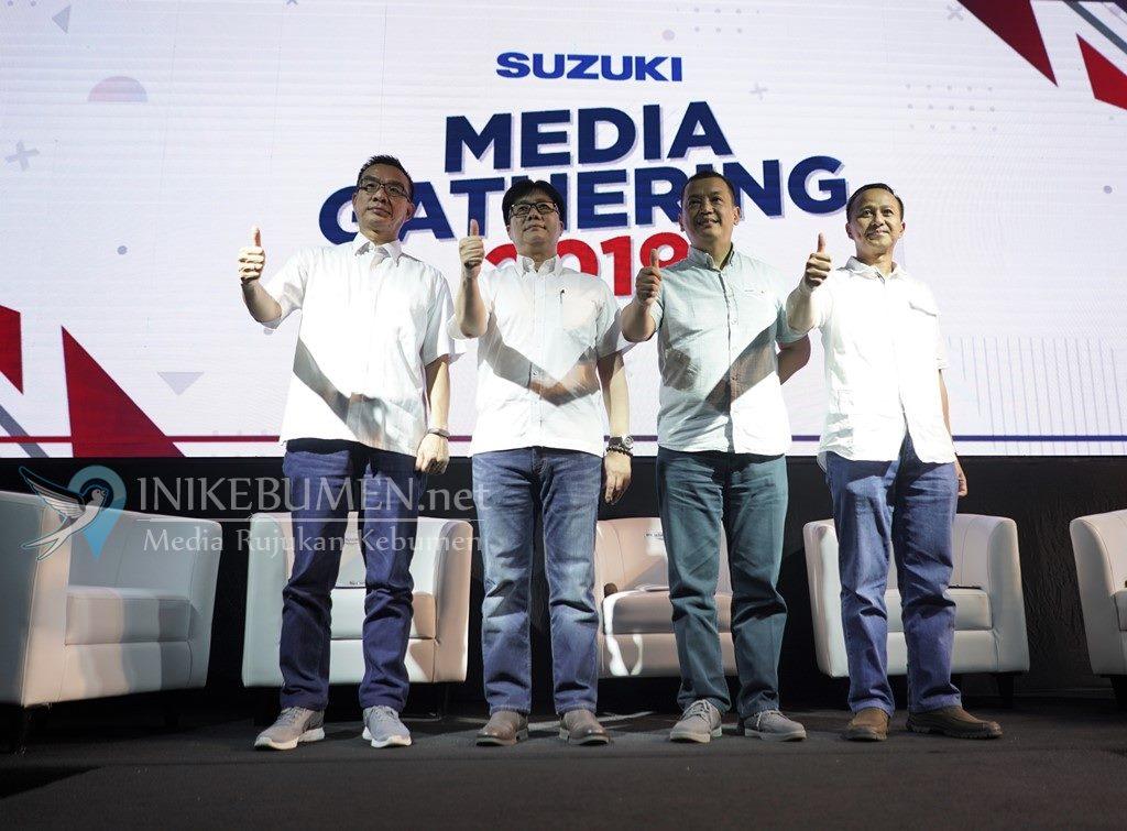 Raih Hasil Positif di 2018, Suzuki Motor Optimistis Hadapi Persaingan di 2019