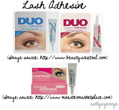 b863fbec330 There are two basic brands of Lash Glue most that most locations carry. It  is Ardell LashGrip Adhesive & DUO Eyelash Adhesive.