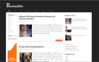 resizable-responsive-blogger-template