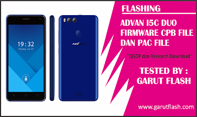 Flashing Advan I5C Duo File CPB & PAC Normal Kembali Imei AMAN