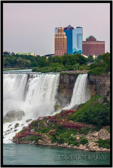 The Bridal Veil Falls at Niagara Falls