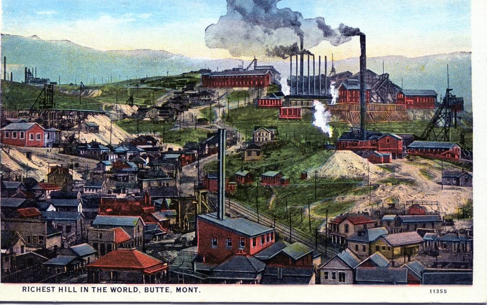 Bildergebnis für Butte Montana 1913
