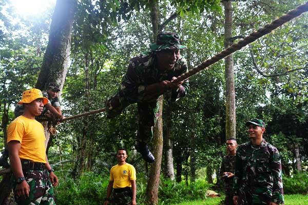 Minggu Militer, Korem 012 Melaksanakan Latihan HTF