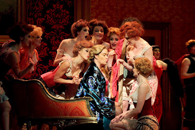 Alice Coote - Act 3, Der Rosenkavalier - Royal Opera. © ROH. Photograph by Catherine Ashmore