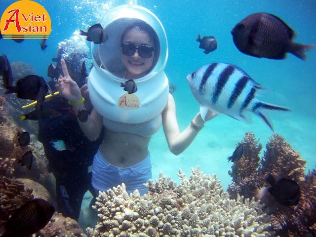 Tour Đi Bộ Dưới Biển kết hợp tour 4 đảo 02