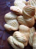 Biscotti molecolari senza grassi all'arancia