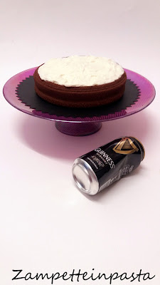 Guinness Cake senza burro -Torte senza burro