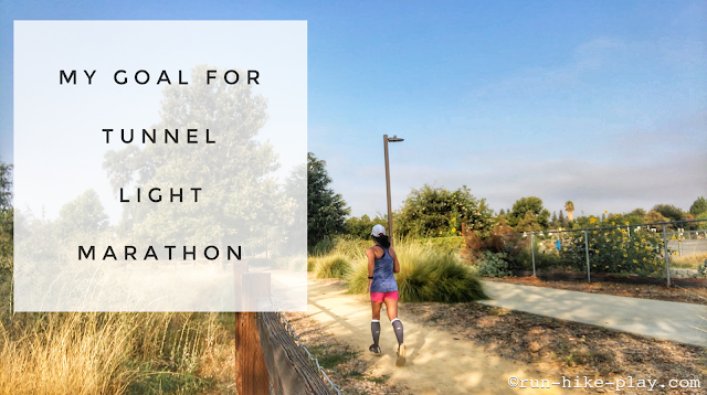 Goal for Tunnel Light Marathon 2018