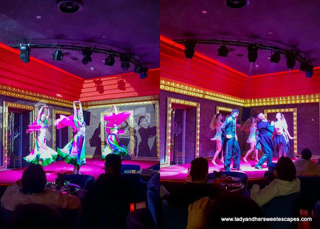 dance performance in Maison Rouge Dubai