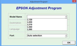 Epson L220 Resetter Download
