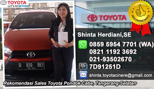 Toyota Pondok Cabe Tangerang Selatan