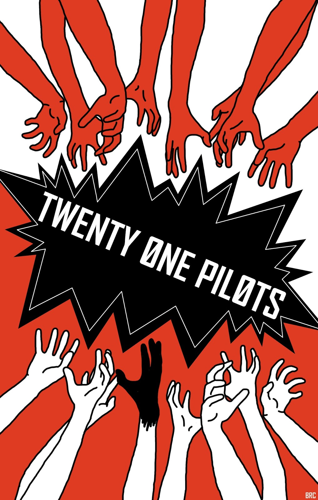 Among The Delegates Music Twenty One Pilots Poster Art
