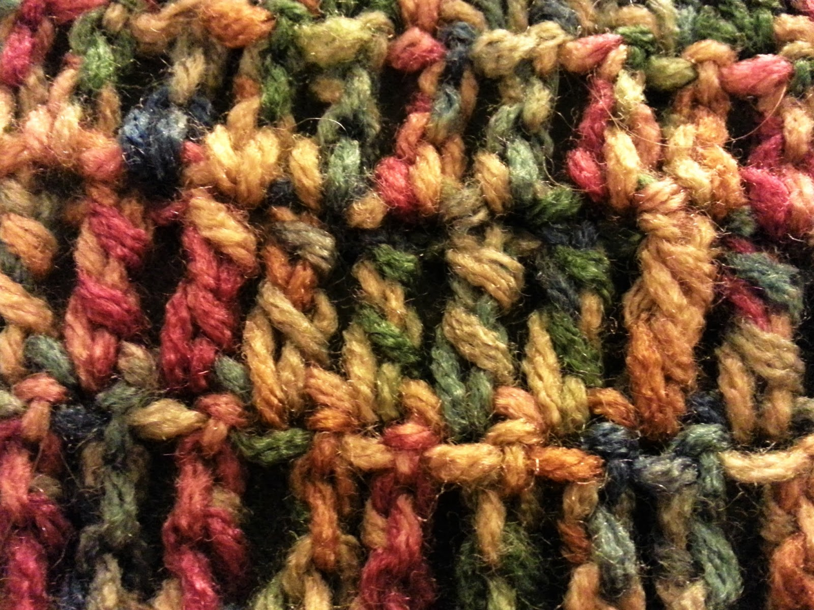 The Home Stretch: Triple Crochet Scarf with Fringe