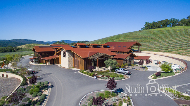 Drone Photography - Paso Robles Winery Photography - Studio 101 West Photography