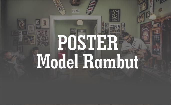 Poster Model Rambut