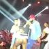 Female fan open it for Wizkid on stage