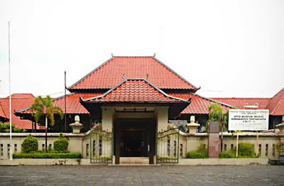 Sonobudoyo museum in Yogyakarta