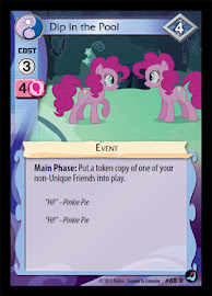 My Little Pony Dip in the Pool High Magic CCG Card