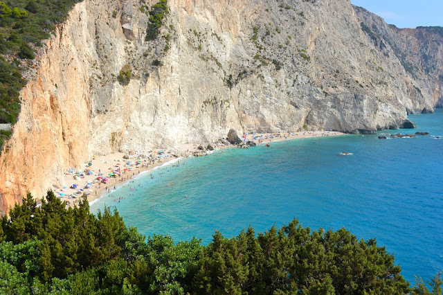 porto katsiki playa grecia lefkada