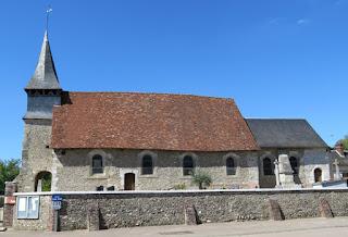 photographie de l'église de Corny 27 eure
